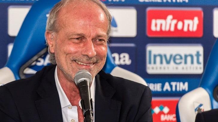 Serie A Sampdoria, Sabatini: «Giampaolo diventerà un fenomeno»