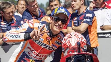 MotoGp, Marquez: «Non dipende da me la pace con Rossi»