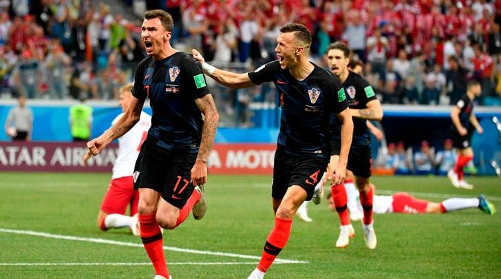 Mondiali 2018, Croazia-Danimarca 4-3 (d.c.r.): a segno Mandzukic