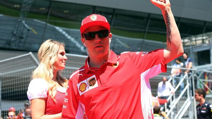 F1 Austria, Raikkonen: «Una bella gara per il team, peccato non aver vinto»
