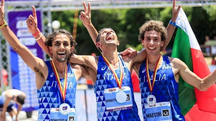 Podio azzurro ai  Campionati Europei di Corsa in montagna a Skopje