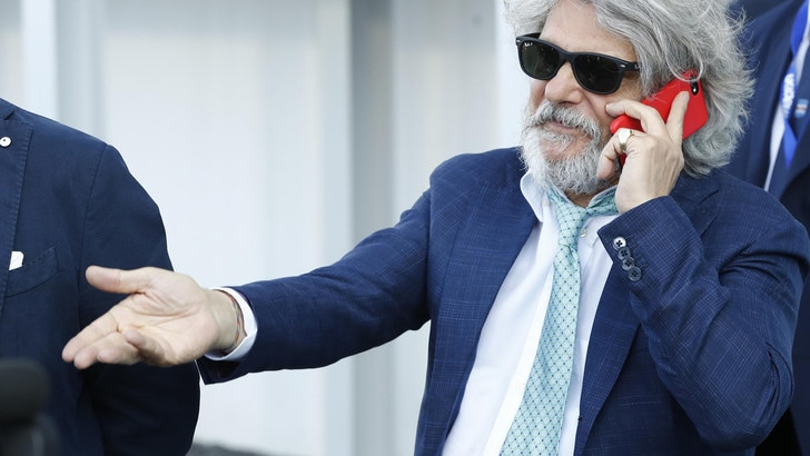 Serie A Sampdoria, Ferrero inibito per frasi sessiste