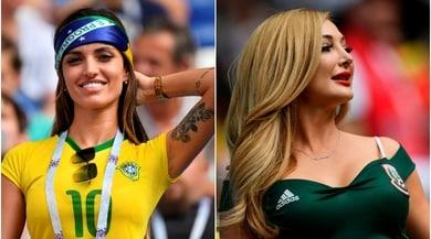 Mondiali 2018, Brasile-Messico: l'ottavo di finale si fa... sexy