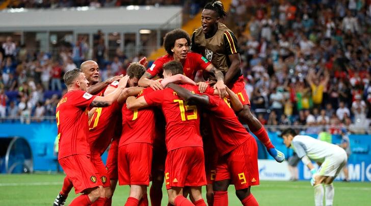 Belgio-Giappone 3-2: Vertonghen, Fellaini e Chadli firmano la rimonta