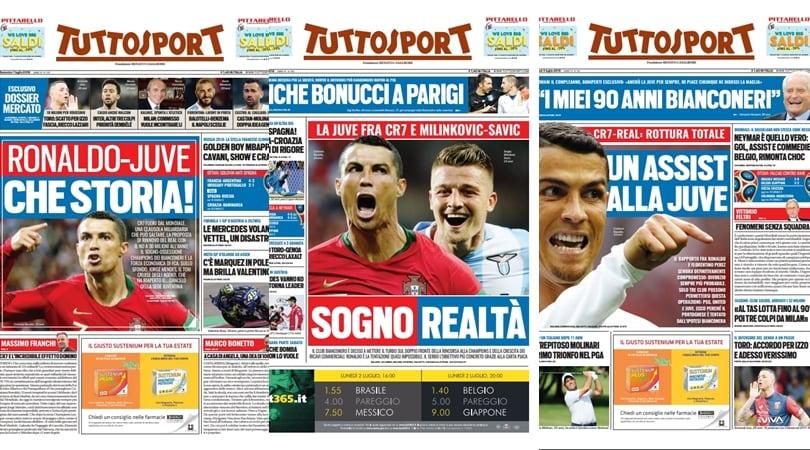 Conferme dall'estero: «Cristiano Ronaldo sta trattando con la Juventus!»