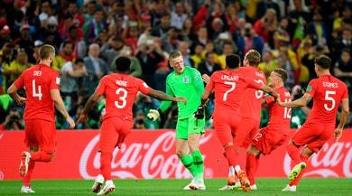Mondiali 2018, Colombia-Inghilterra 1-1 (4-5 d.c.r.): Bacca sbaglia, Dier no