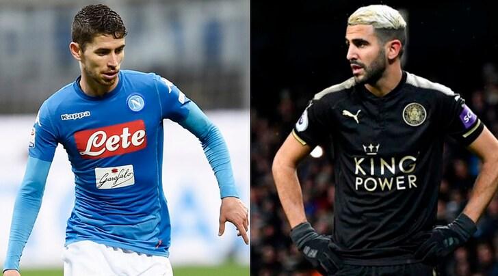 Dall'Inghilterra: «Manchester City, in arrivo Jorginho e Mahrez per quasi 123 milioni»