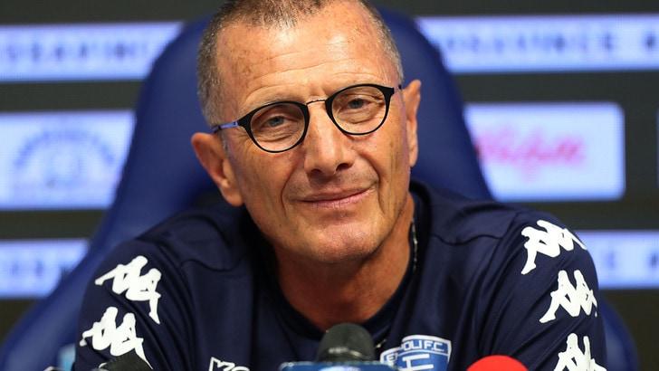 Calciomercato Empoli, Andreazzoli: «Non abbandoneremo la nostra idea di calcio»