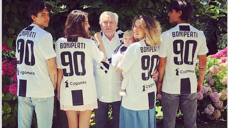 Boniperti 90: è sempre il presidentissimo della Juventus
