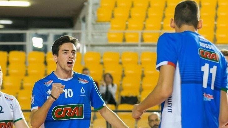 Volley A2 maschile - Leonardo Baciocco (17 anni) nuovo martello di Santa Croce