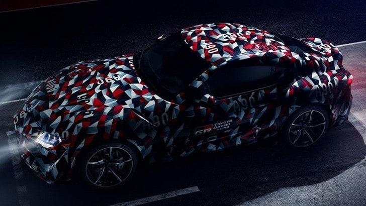 Toyota Supra debutta al Festival di Goodwood