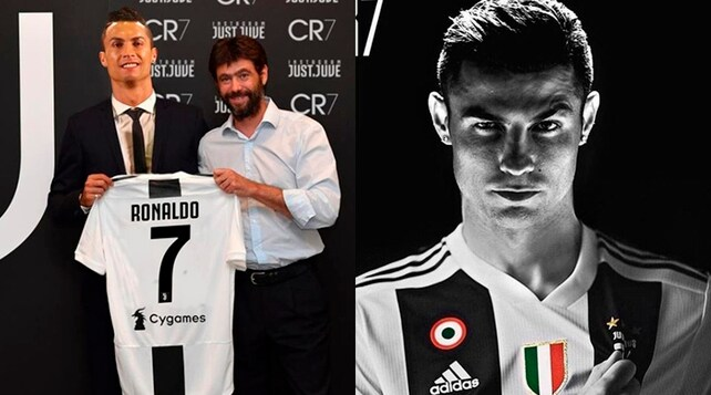 Due sfumature di Cristiano Ronaldo: il bianco e il nero
