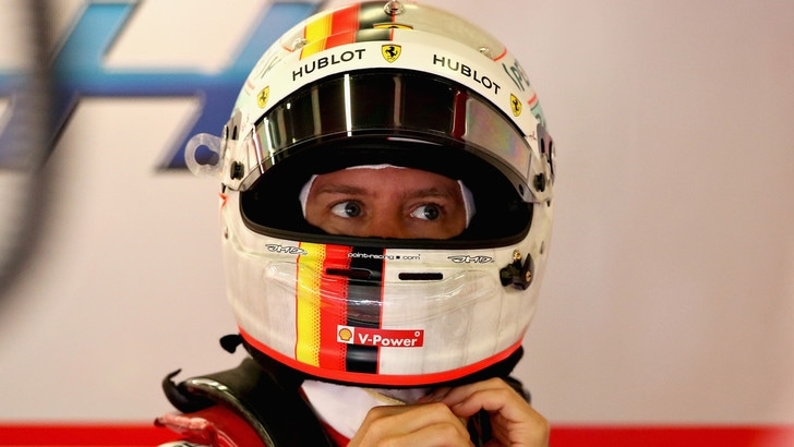 F1 Gran Bretagna, Vettel: «Sono stato subito contento delle sensazioni in pista»
