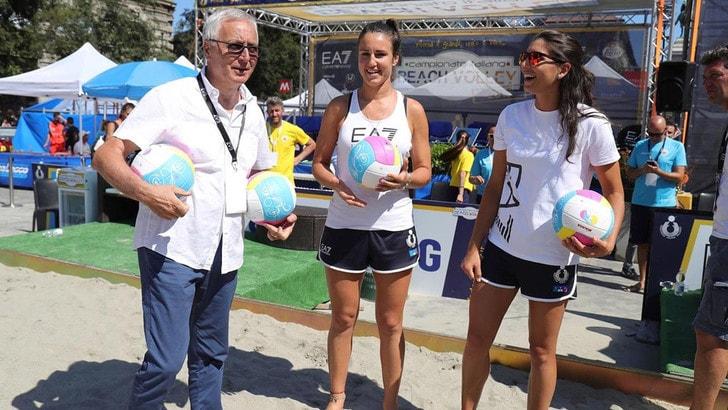 Beach volley Tricolore - Grandi sorprese tra i semifinalisti a Milano