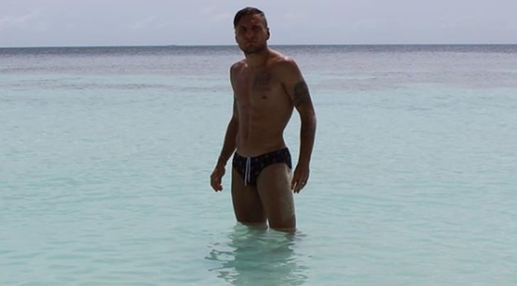 Immobile, paura in spiaggia: ultrà tenta di aggredirlo