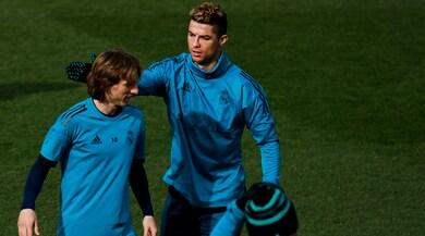Modric: «Ronaldo? Spero resti al Real Madrid»