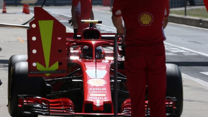 F1 Gran Bretagna, penalità per Raikkonen