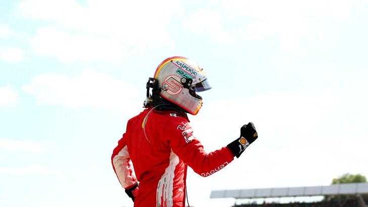 F1 Gran Bretagna, Vettel: «E' stato esaltante»