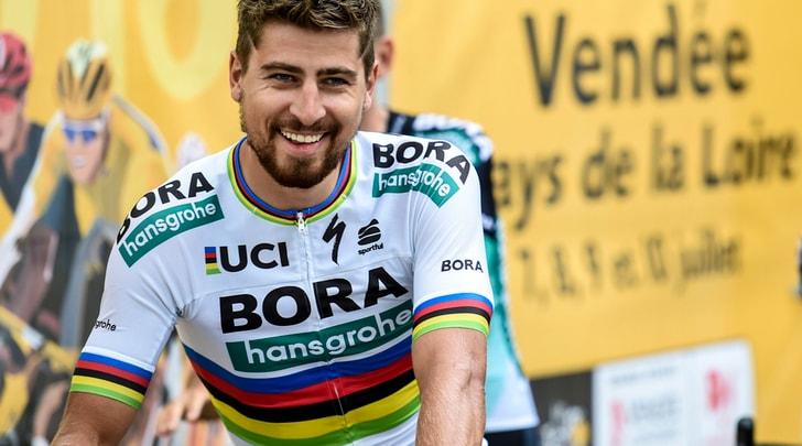 Tour de France, Gaviria cade. A Sagan tappa e maglia