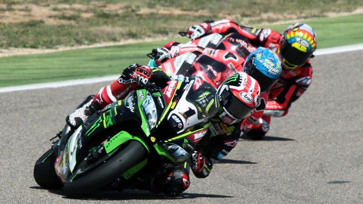 Moto: SBK, Misano,Rea vince anche gara-2