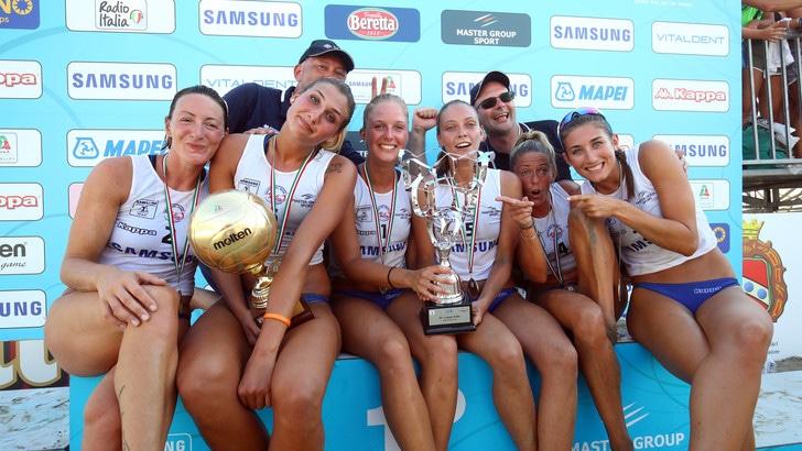 Sand Volley: la Coppa Italia la alza ancora Scandicci