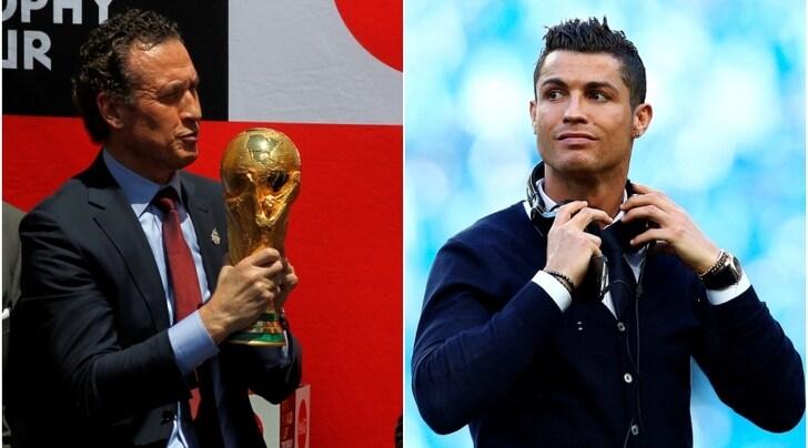 """Juventus, Valdano """"avvisa"""" Ronaldo:«Lasciare il Real non è una mossa intelligente»"""