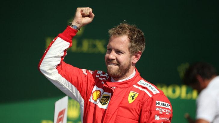 F1, la quota di Vettel per il titolo scende a 2,30
