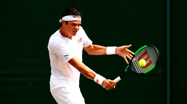 Wimbledon, Raonic vola ai quarti di finale