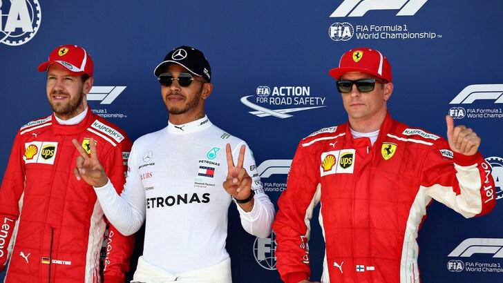 F1, la Ferrari apprezza i commenti di Hamilton