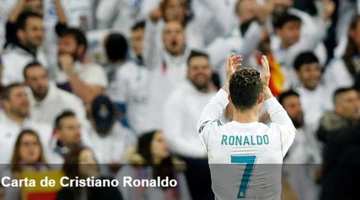Real, la lettera d'addio di Ronaldo: «Grazie a tutti, ora apro un nuovo ciclo»
