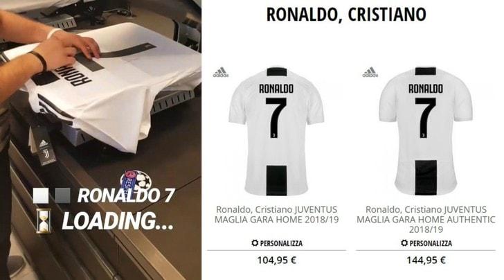 Juventus, Ronaldo-mania: boom di ordini online e di followers sui social