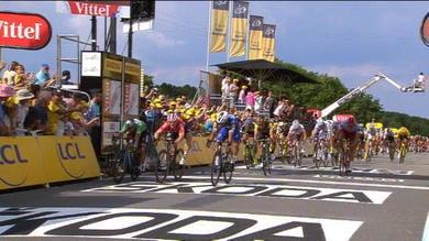 Tour - Tappa a Gaviria, battuto Sagan in volata