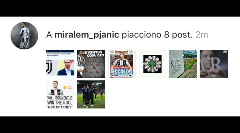 Ronaldo-Juventus, la felicità di Pjanic su Instagram