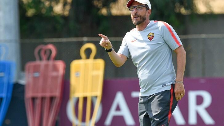 Serie A Roma, Di Francesco: «Ronaldo, valore aggiunto per tutto il campionato»