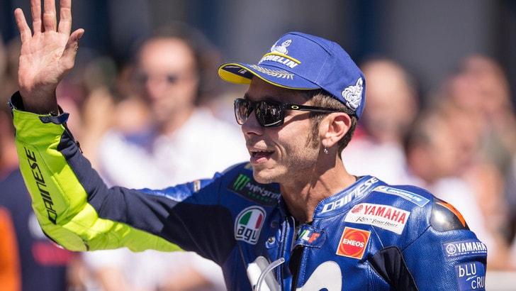 MotoGp Yamaha, Rossi: «Dovremo lavorare sodo fin da venerdì»