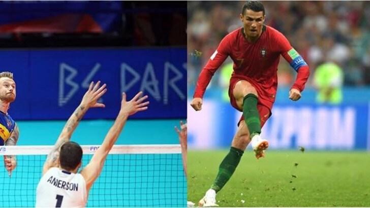 Volley: Zaytsev-Cristiano Ronaldo, chi tira più forte ?