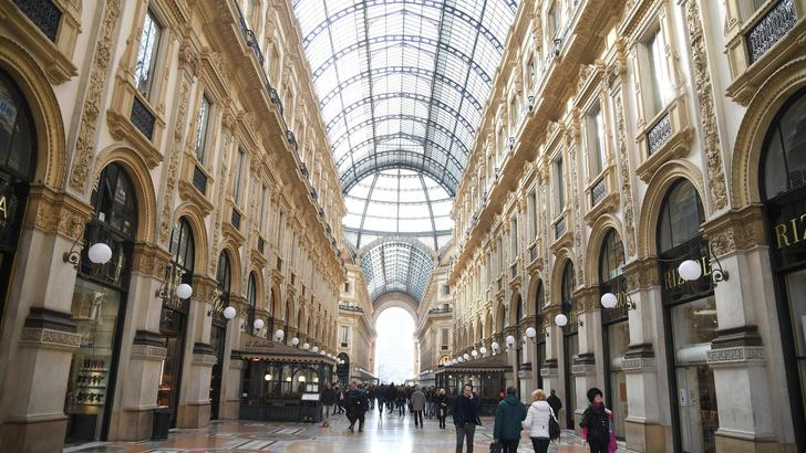 Un milione all'anno per negozio Galleria