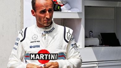 F1 Williams, Kubica: «Sarei dovuto essere un pilota Ferrari nel 2012»