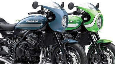 Kawasaki Z900 RS Cafè: nuove colorazioni in arrivo