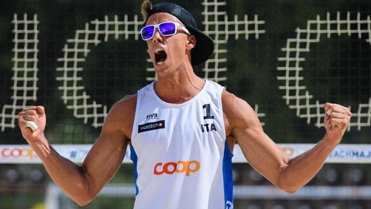 Beach Volley: a Gstaad Lupo-Nicolai e Andreatta-Abbiati  agli ottavi