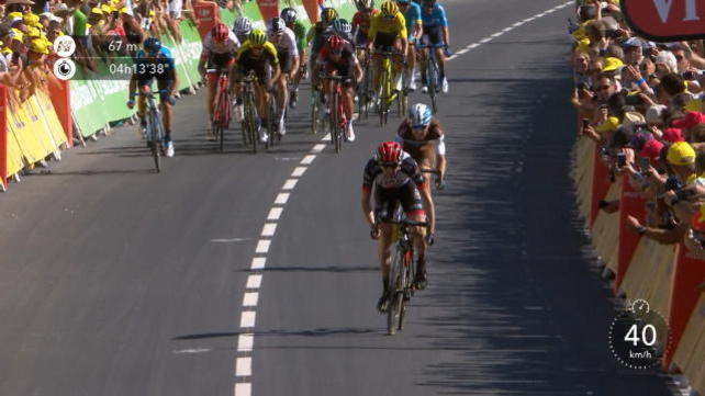 Tour, 6° tappa - Vince Martin, bene Nibali