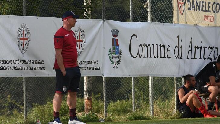 Serie A Cagliari, i convocati di Maran per il ritiro in Trentino