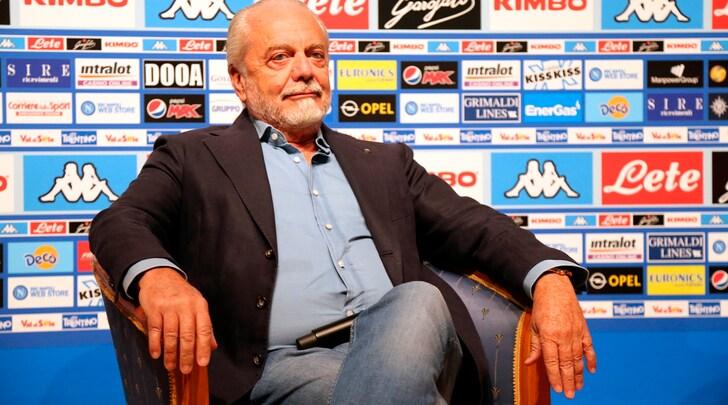 Napoli, De Laurentiis: «Scudetto scippato, noi siamo la banda degli onesti»