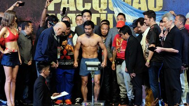 Boxe, Pacquiao: «Sono pronto e motivato»