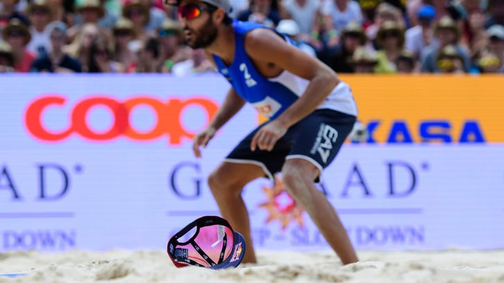 Beach Volley: a Gstaad Lupo-Nicolai cadono in semifinale