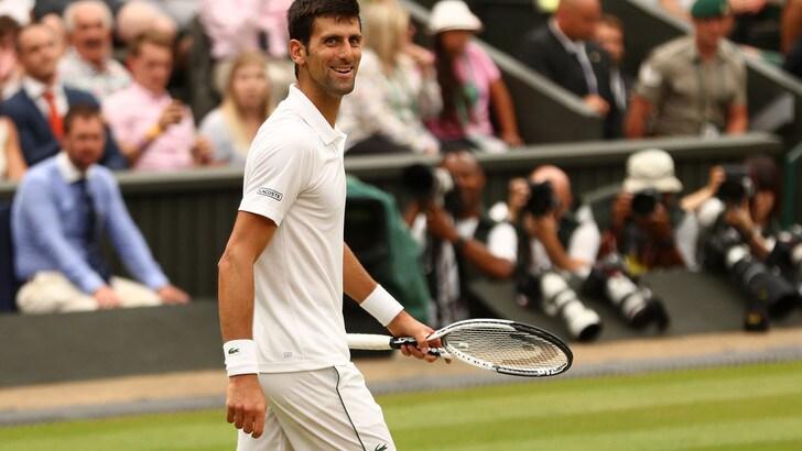 Tennis, Wimbledon: Anderson sfida Djokovic, il serbo a 1,16