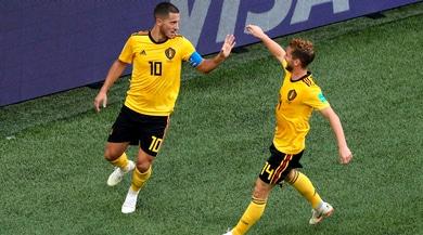Mondiali 2018, Belgio-Inghilterra 2-0: Meunier e Hazard per il terzo posto