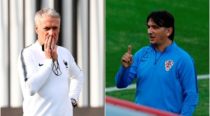 Finale Mondiali 2018: Deschamps carica la Francia, Croazia in ansia per Perisic
