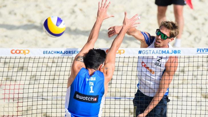 Beach Volley: terzo gradino del podio per Lupo-Nicolai a Gstaad
