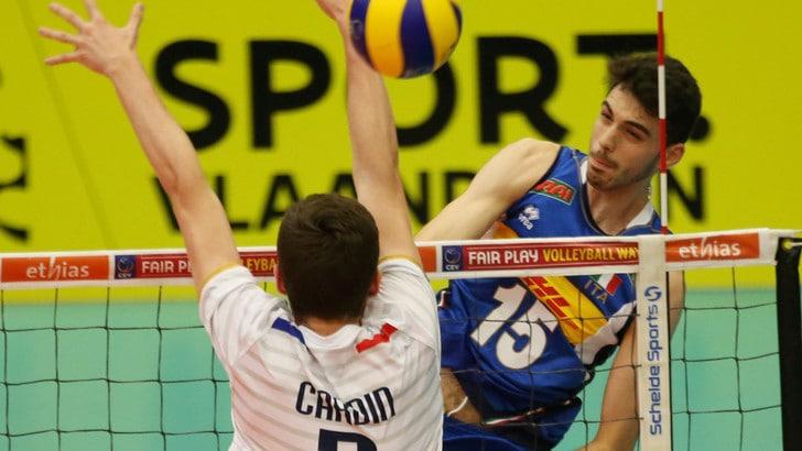 Volley: Europeo U20, esordio vincente per l'Italia con la Francia